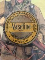 Pot De Vaseline Anglais Plein Ww2 Original Militaria - 1939-45