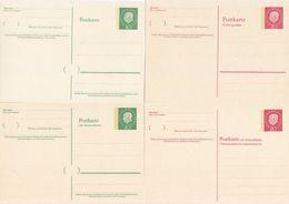 BUND Ganzsachen - P 43 II, 44 II, 45 II Und P 47 - Top Postfrisch Michel WERT 70,00 €uro Zum SCHNÄPPCHENPREIS! - Nuovi
