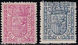 1895. * Edifil: 230/31. ESCUDO DE ESPAÑA S. O. - 1889-1931 Königreich: Alphonse XIII.