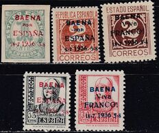 1936. * Edifil: EMISIONES LOCALES PATRIOTICAS: BAENA 11/15 - Nationalistische Ausgaben