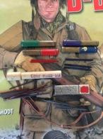 Lot Paquet De Mine De Crayon Us Ww2 Militaria Original - 1939-45