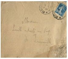 (G 3) France Cover (very Old / Condition As Seen On Scan) 1922 - - Francia