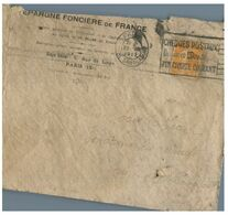 (G 3) France Cover (very Old / Condition As Seen On Scan) 1922 - Francia