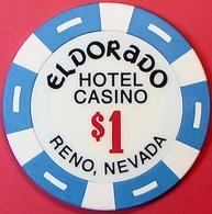 $1 Casino Chip. Eldorado, Reno, NV. O78. - Casino