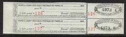 France Colis P. De Paris Pour Paris N°172** Par 2. Cote 44€ - Paquetes Postales