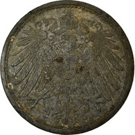 Monnaie, GERMANY - EMPIRE, 10 Pfennig, 1920, Berlin, Error Die Break, TB+, Zinc - [ 3] 1918-1933 : Weimar Republic