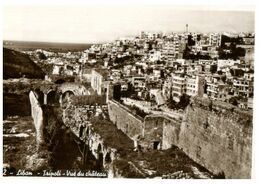 (J 5 B) Very Old - Lebanon  Liban - Tripoli - The Castle (second Largest Icty In Lebanon) - Castillos