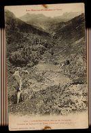 CPA 65 LUZ SAINT SAUVEUR (ROUTE DE GAVARNIE) N°458 CASCADE DE LASSARIOU ET FOND D'ARDIDEN (2934-2948-2988m) - Luz Saint Sauveur