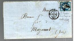 35729 - MANUFACTURE  D HABILLEMENT - Marcophilie (Lettres)