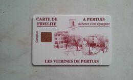 ANCIENNE CARTE A PUCE CEV / CARTAPLUS VILLE : PERTUIS T.B.E !!! - Frankreich