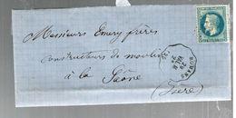 35731 - 2 Cachets  Convoyeurs Station - Marcophilie (Lettres)