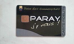 JOLIE CARTE A PUCE CEV / CARTAPLUS VILLE : PARAY LE MONIAL T.B.E !!! - Frankreich