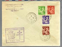 35737 - FORTERESSE DE LA ROCHELLE - Poststempel (Briefe)