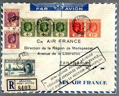 35740 - De PORT LOUIS à  TANANARIVE - Airplanes