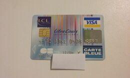 JOLIE CARTE A PUCE BANCAIRE PERIMEE LCL !!! - Frankreich