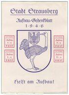 Lokalausgaben Strausberg - Michel Block 3 Pfr.**/MNH (wie Verausgabt Ohne Gummi/émis Sans Gomme - Soviet Zone