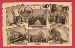 Ligny - Souvenir De ...  Carte Multivues ( Voir Verso ) - Sombreffe