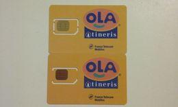 LOT 2 ANCIENNES CARTES GSM SIM FRANCE TELECOM ITINERIS OLA T.B.E !!! - Frankreich