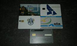 LOT 5 CARTES STATIONNEMENT PARKING A PUCE PAYS DIVERS T.B.E !!! - Telefonkarten