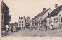 51-VILLE EN TARDENOIS ENTREE DE VILLE - France