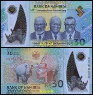 Namibia 30 Dollars (2020), Commemorative, Polymer, UNC - Namibia