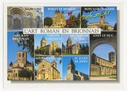 {60198} L' Art Roman En Brionnais , Multivues ; Bois Sainte Marie , Varenne L' Arconce , Marcigny - Monuments