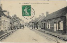 D41 - MILLANCAY - ROUTE DE ROMORANTIN - Plusieurs Personnes - Charrette Avec Un Cheval - France