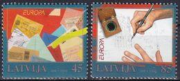 LETTLAND 2008 Mi-Nr. 731/32 ** MNH - Lettonia