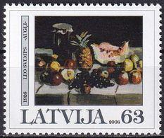 LETTLAND 2008 Mi-Nr. 723 ** MNH - Lettonia