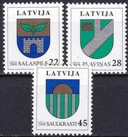 LETTLAND 2008 Mi-Nr. 719/21 ** MNH - Lettonia