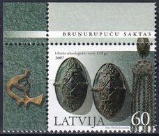 LETTLAND 2007 Mi-Nr. 713 ** MNH - Lettonia
