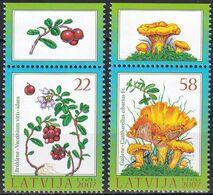 LETTLAND 2007 Mi-Nr. 707/08 A ** MNH - Lettonia