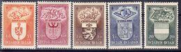 BELGIQUE,  COB 756/60 **. Grosse Valeur, Déf Dentelure Et Grain Dans Le Papier  (3T169A) - Belgium