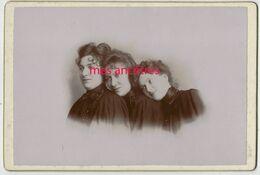 En 1897-grande CDV (CAB) Joséphine, Marie Et Louise DUBOIS--familles DAUMAS-MATHIAS-DELPECH-BRETONNECHE - Alte (vor 1900)