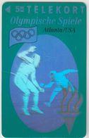 DENMARK - Olympic Games Fencing , Tele Soenderjylland 50KR, 08/93, Tirage  11.000, Used - Dänemark