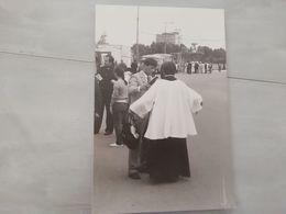 20247     PHOTO DE PRESSE 18X26CM  FRANCE  POLOGNE VOYAGE DE JEAN PAUL II - Photographs