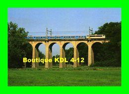 RU 0076 - Train - Loco BB 8624 Sur Le Viaduc De Planchetorte - BRIVE LA GAILLARDE - Corrèze - SNCF - Brive La Gaillarde