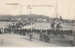 20 / 8 / 232. - CANNES ( 06 ). ARRIVÉE  DE  TORPILLEURS  CPA - Cannes