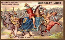 CHROMO CHOCOLAT LOUIT  GUILLAUME LE CONQUERANT - Louit