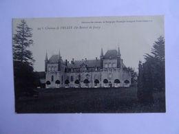 CPA  71  Chateau De PRESSY  (St-Bonnet De Joux)   TBE - Autun