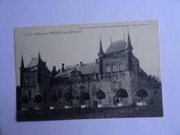 CPA  71  Chateau De PRESSY-sous-DONDIN  TBE - Autun