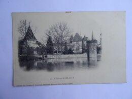 CPA  41   Chateau De BLAISY Dos Simple TBE - Unclassified