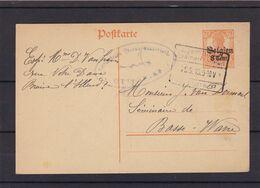 Entier Postal De Eigen Brakel Braine L Alleud - Guerre 14-18
