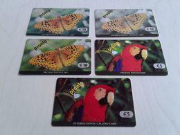 Belgium - 5 Different Pronto Phonecards - Belgien