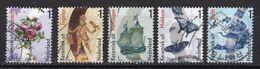 Nederland - Mooi Nederland 2014 - Keramiek - Gebruikt/gebraucht/used - NVPH 3165A/3166A/3167A/3168A/3185A - Gebraucht