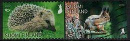 2020 Finland, Norden: Yard Visitors, Complete Used Set. - Finland