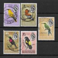 Bechuanaland 1961 Vögel Mi.Nr. 155-58 Gestempelt - Bechuanaland (...-1966)