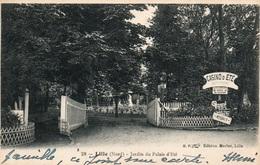 Lille - Le Jardin Du Palais D'été, Casino En 1927 - Edition Merlot - Carte N° 28 - Lille