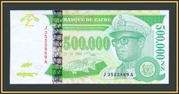 Zaire 500000 Zaire 1996 P-78 (78a) UNC - Zaire