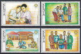 Kenia Kenya 2005 Organisationen Wohlfahrt Welfare Rotary Impfung Vaccination Don Bosco Nähen, Mi. 777-0 ** - Kenia (1963-...)